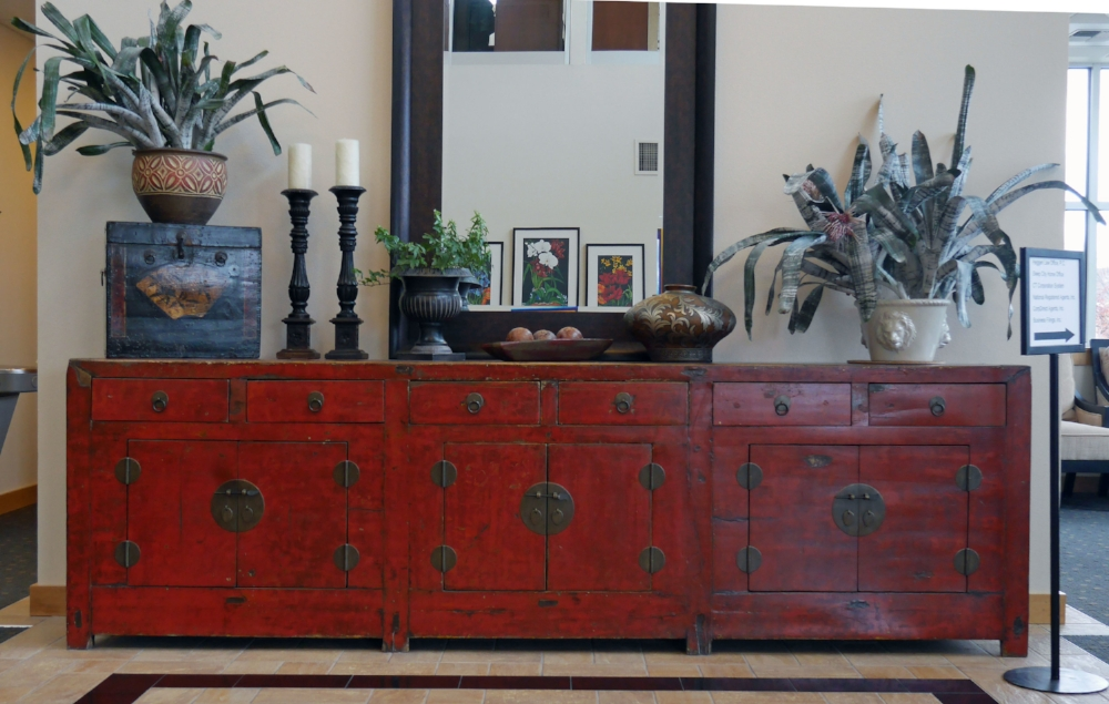 Credenza in the ERA/Lambros Realty Bldg in Missoula