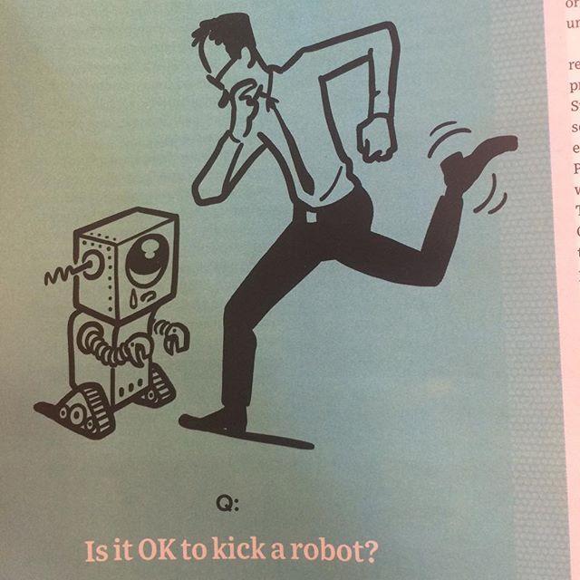 Deli sorular kafamda? #wired #kickarobot