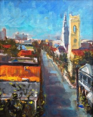 12x9 Oil by Mark Bailey | $750