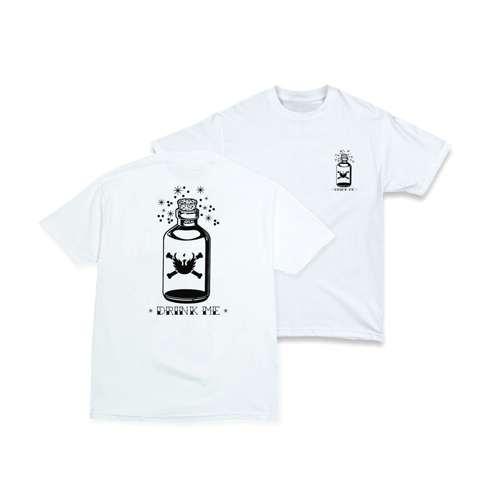 """Drink Me"" Tee Now Available ..."