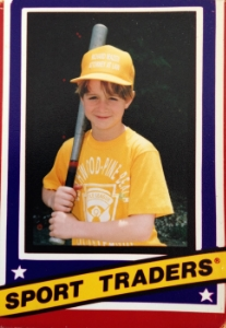 """According to the back of my baseball card, I was 9 years old, 4'7"""" tall, 80 lbs and liked the Minnesota Twins. I'm not buying it."""