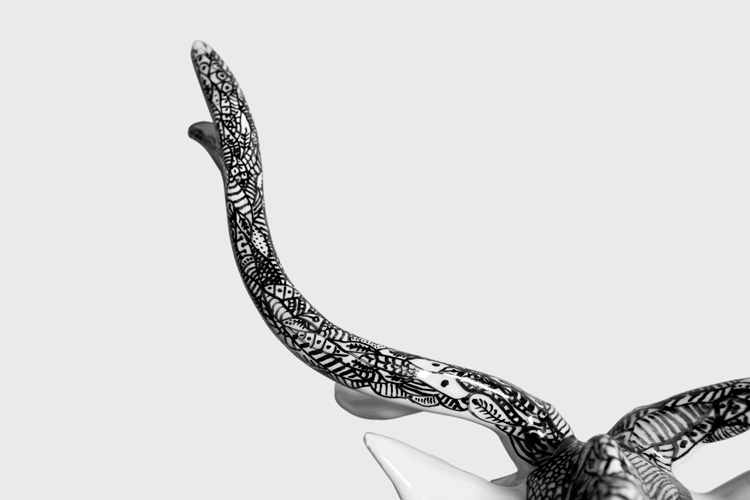 Ink on Ceramic