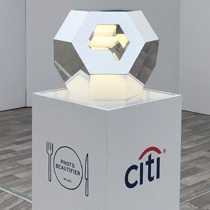 Citi + Taste Of the Nation     Social Sharing Sculptures