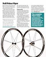 Cycling Weekly reviews the Vigor Alpha