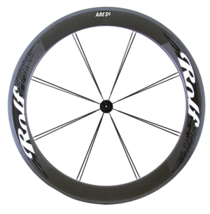 Ares6 66mm Carbon Clincher 995g, built with G3 hub
