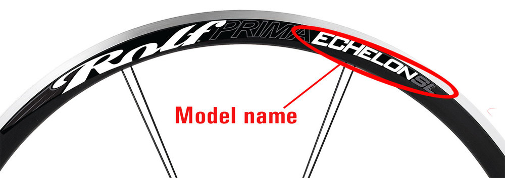 Note: If you see the words: Vector, Sestriere, Propel, Urraco or Dolomite then your wheels were actually built by Trek under a licensing agreement from Rolf. You will need to contact Trek about these wheels.