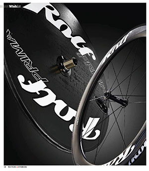 Procycling highlights the Ares6 front with rear Disc