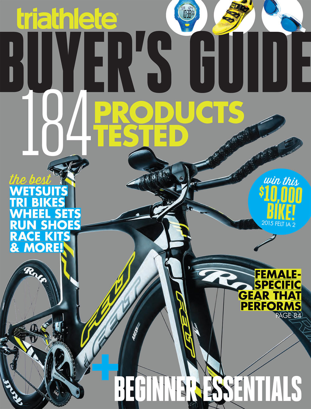 Ares6 ES on the 2015 Triathlete Magazine Buyers Guide