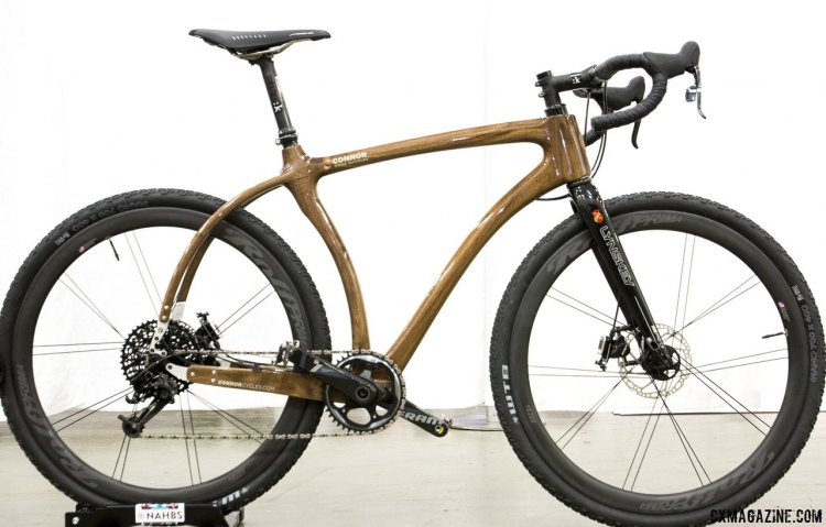 Cyclocross Magazine features Connor Woods build for NAHBS2015