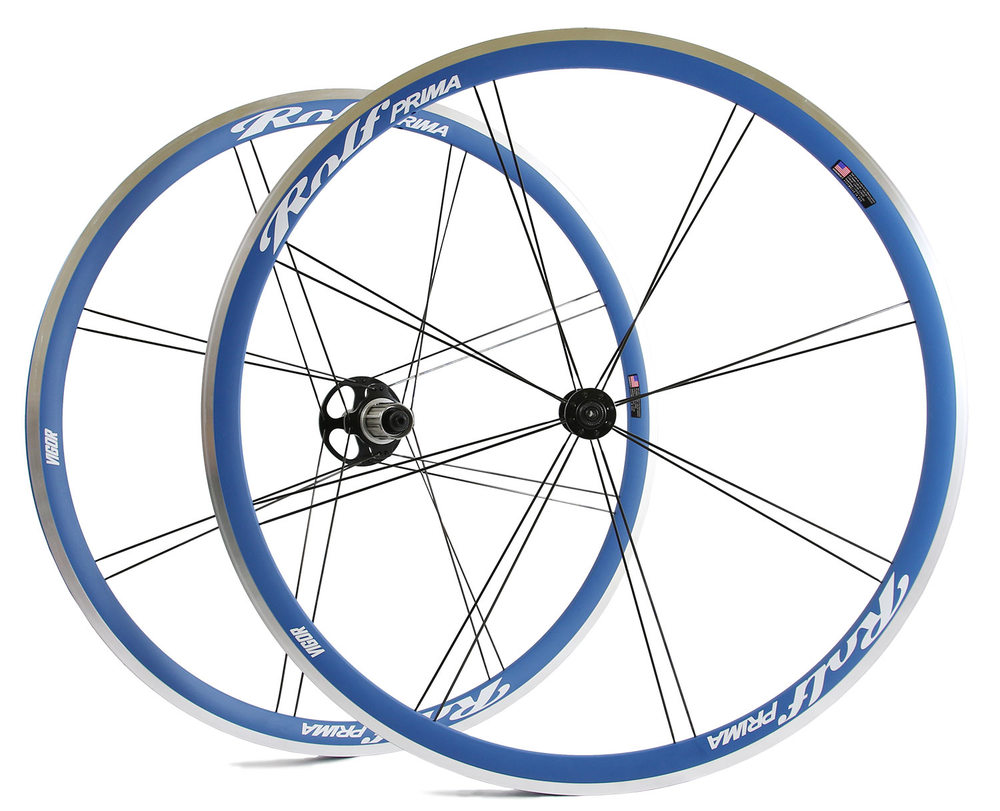 Crater Lake Blue rims with Wallowa White decals