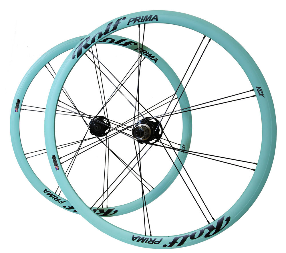 Oregon Spring Mint rims with Obsidian Black decals