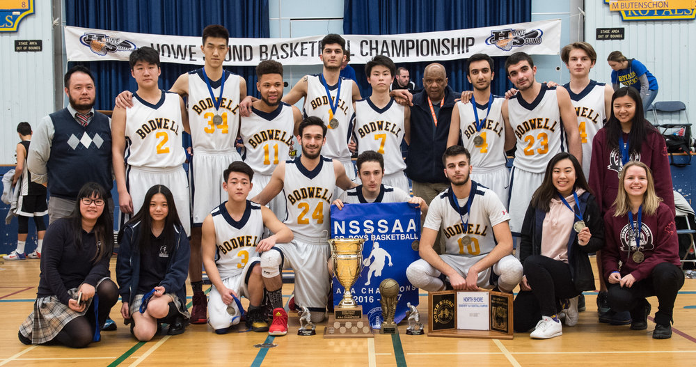 BODWELL BRUINS - 2017 AAA HOWE SOUND CHAMPIONS