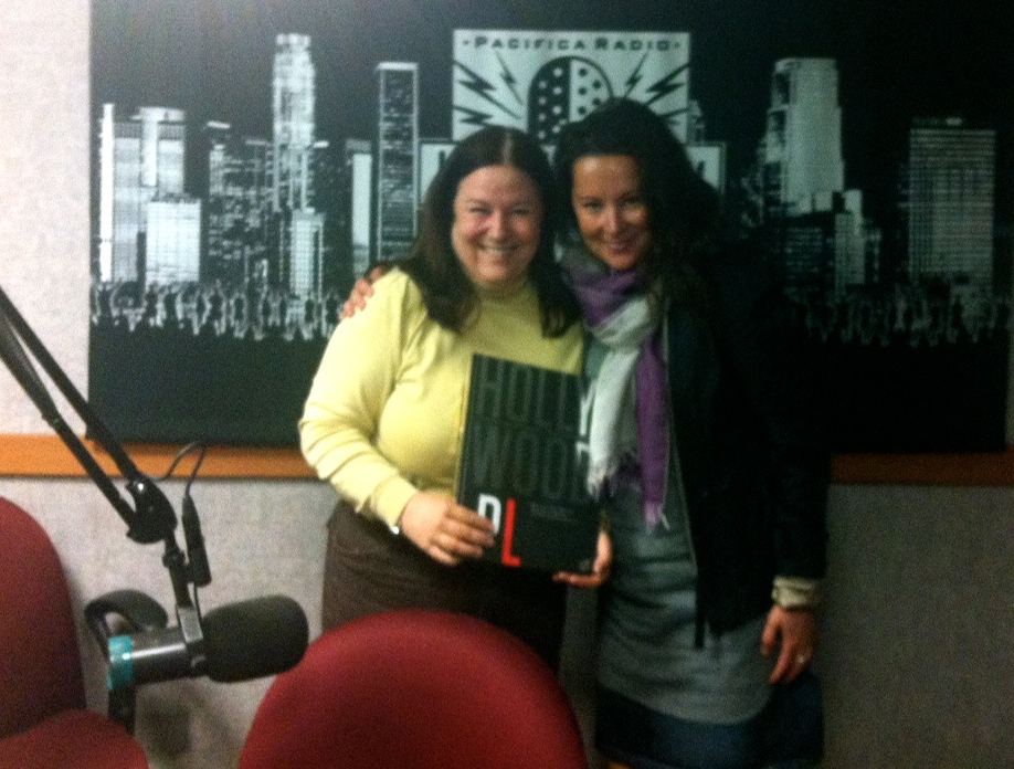 With Donna Walker at the KPFK Studio Los  Angeles, CA