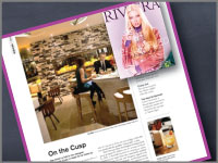 Full dining review on Cusp in Riviera Magazine.