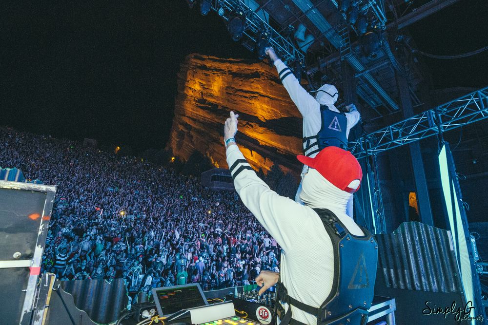 Flosstradamus at Red Rocks