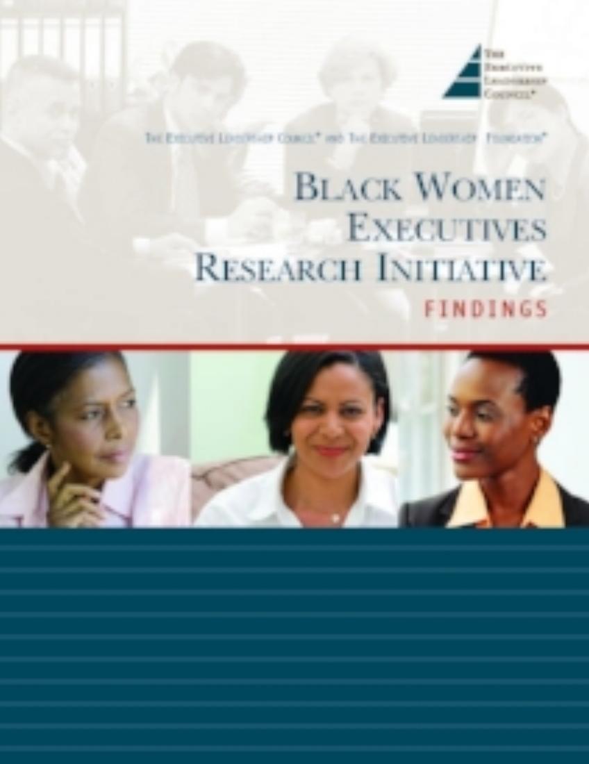Black Executives women executives and their