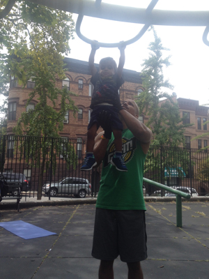Kids of all ages love pullups