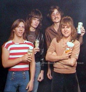 Pictured L to R:  Jon Kemp, Tom Bass (pre-Tommy Lee), Will Boyett, and Greg Leon