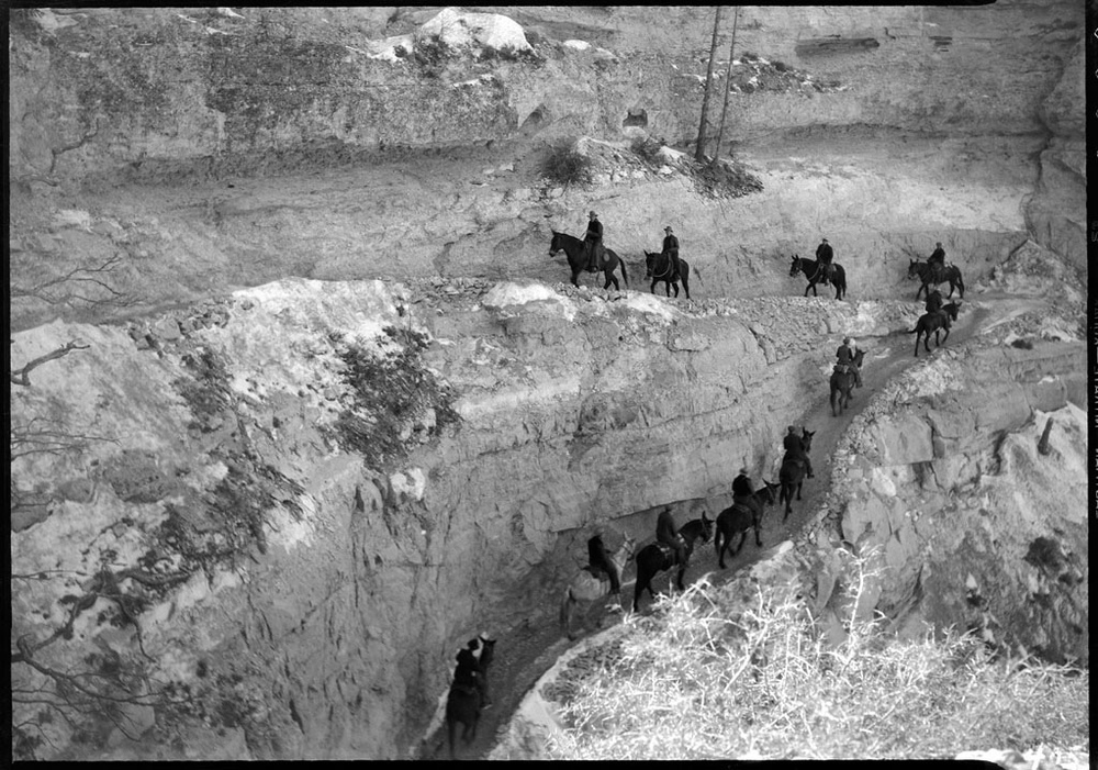 S. KAIBAB TRAIL. 22 FEB 1937.