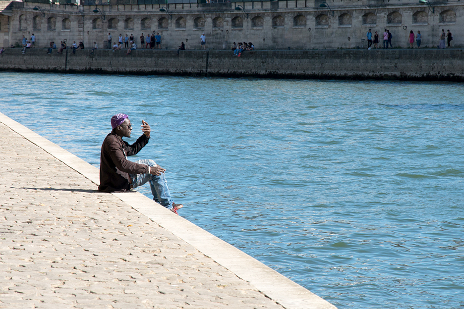 Man on the Seine