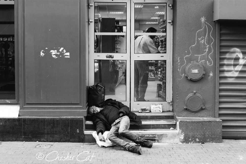 Homeless In Paris, 2016   Shot on Nikon 800 08/09/16 Posted 10/15/17