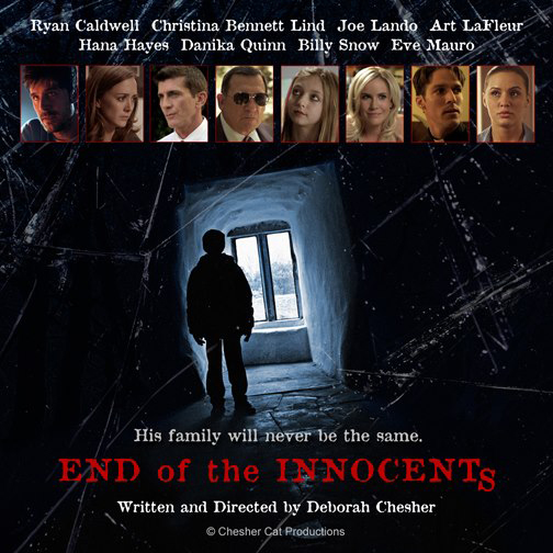 END OF THE INNOCENTS - DVD   (Only 3 left of each option) The short film and tons of behind-the-scenes videos of the making of   End of the Innocents  .