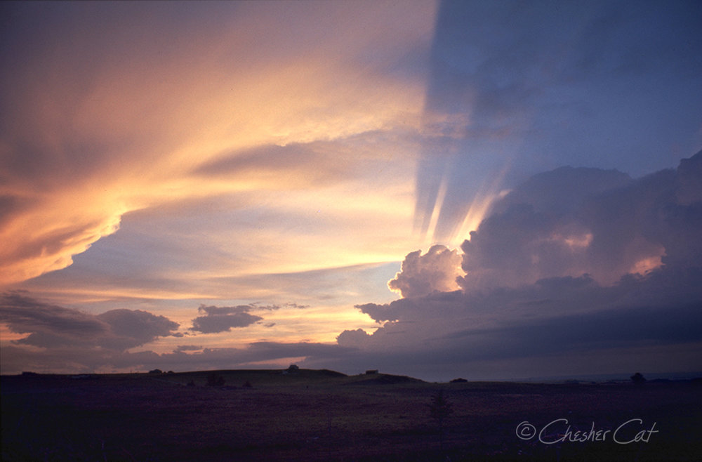 Alberta Sky, 1978   Shot on Pentax Spotmatic II on Kodachrome Film 08//78 Posted 3/16/18