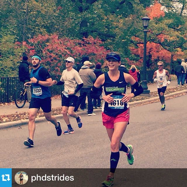 Congrats to our East Coast team member @phdstrides on an awesome performance and new PR (3:14)!!! #twincitiesmarathon