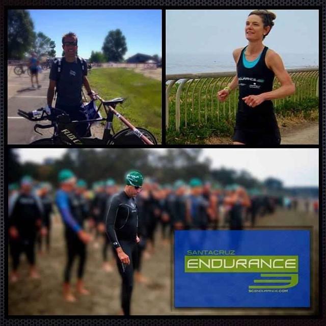 SCE Dream Team racing tomorrow in mixed relay at the Surf City Long Course Triathlon in Santa Cruz. Good luck team!