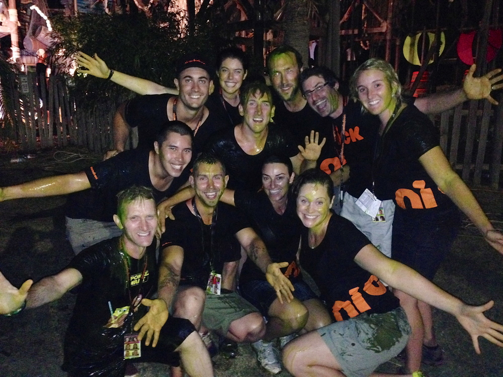 Camp orange 2014 Mega Sliming
