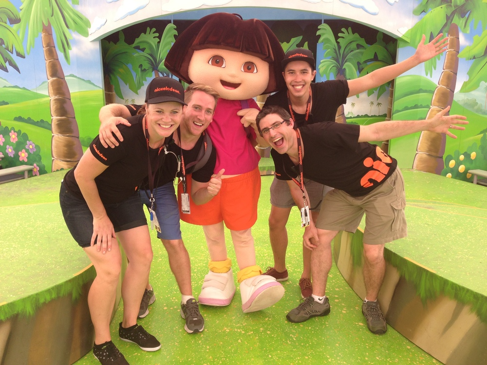 Perks of the job - meeting Dora…is that a perk?
