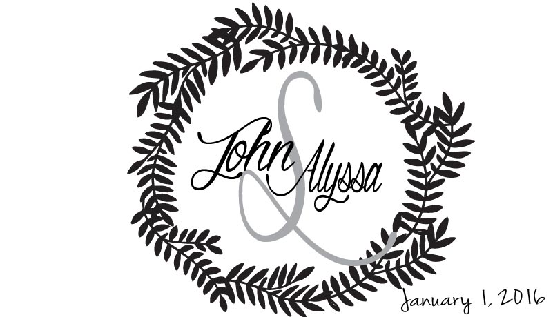 WEDDING LOGO 16