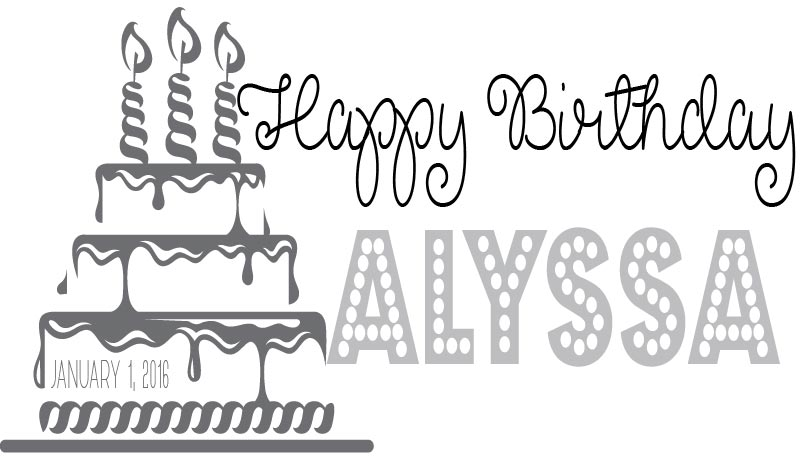 BIRTHDAY LOGO #1