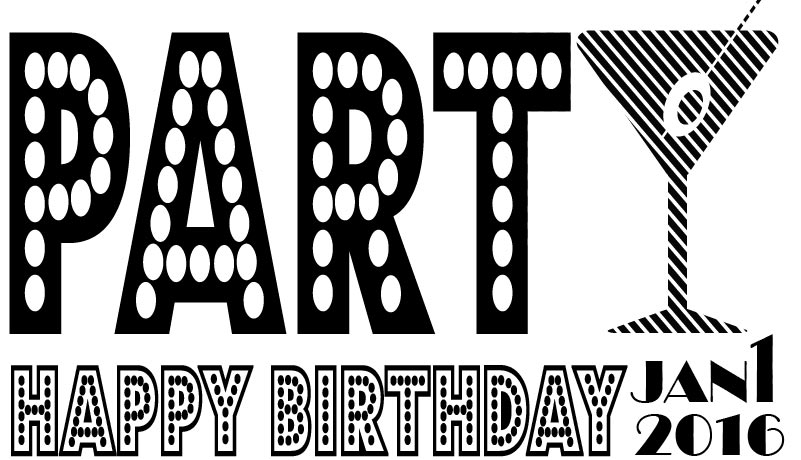 BIRTHDAY LOGO #2