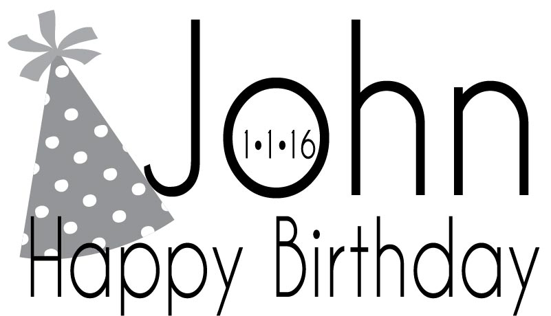 BIRTHDAY LOGO #4