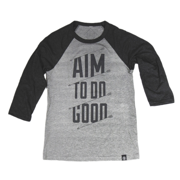 Unisex - Aim to Do Good  - Baseball Tee