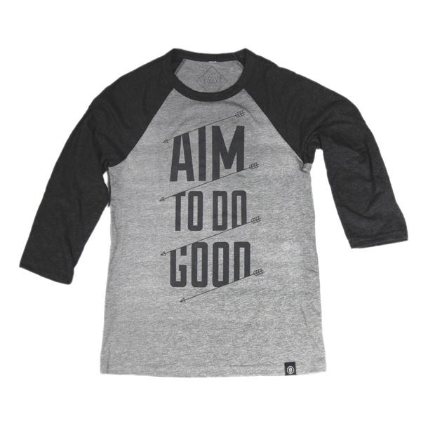 Unisex - Aim to Do Good - Baseball Tee