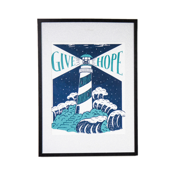 Give Hope Lighthouse - Print