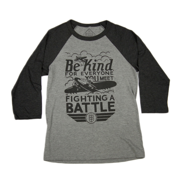 Unisex - Be Kind - Baseball Tee