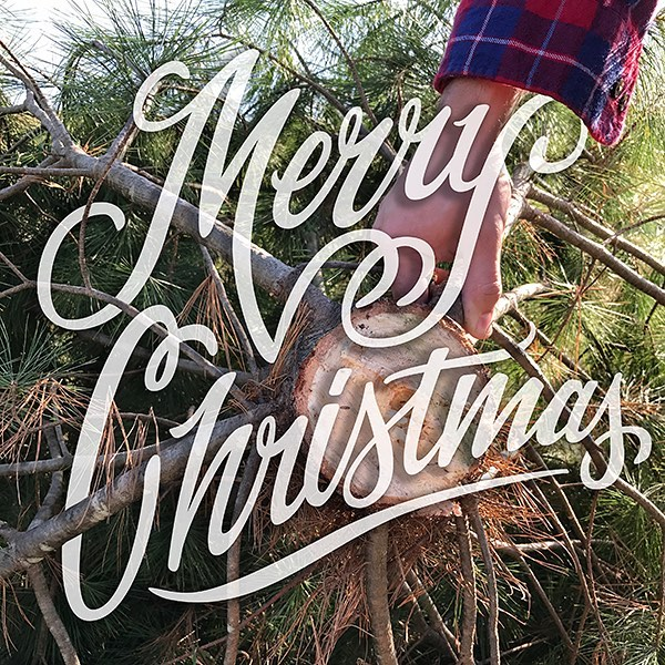 Merry Christmas! We hope you have a blessed holiday. . 📷 @jtmoler . . #stl #stlouis #viveclothing #vive #type #handlettering #lettering #script #merrychristmas #christmas #flannel #design #vector