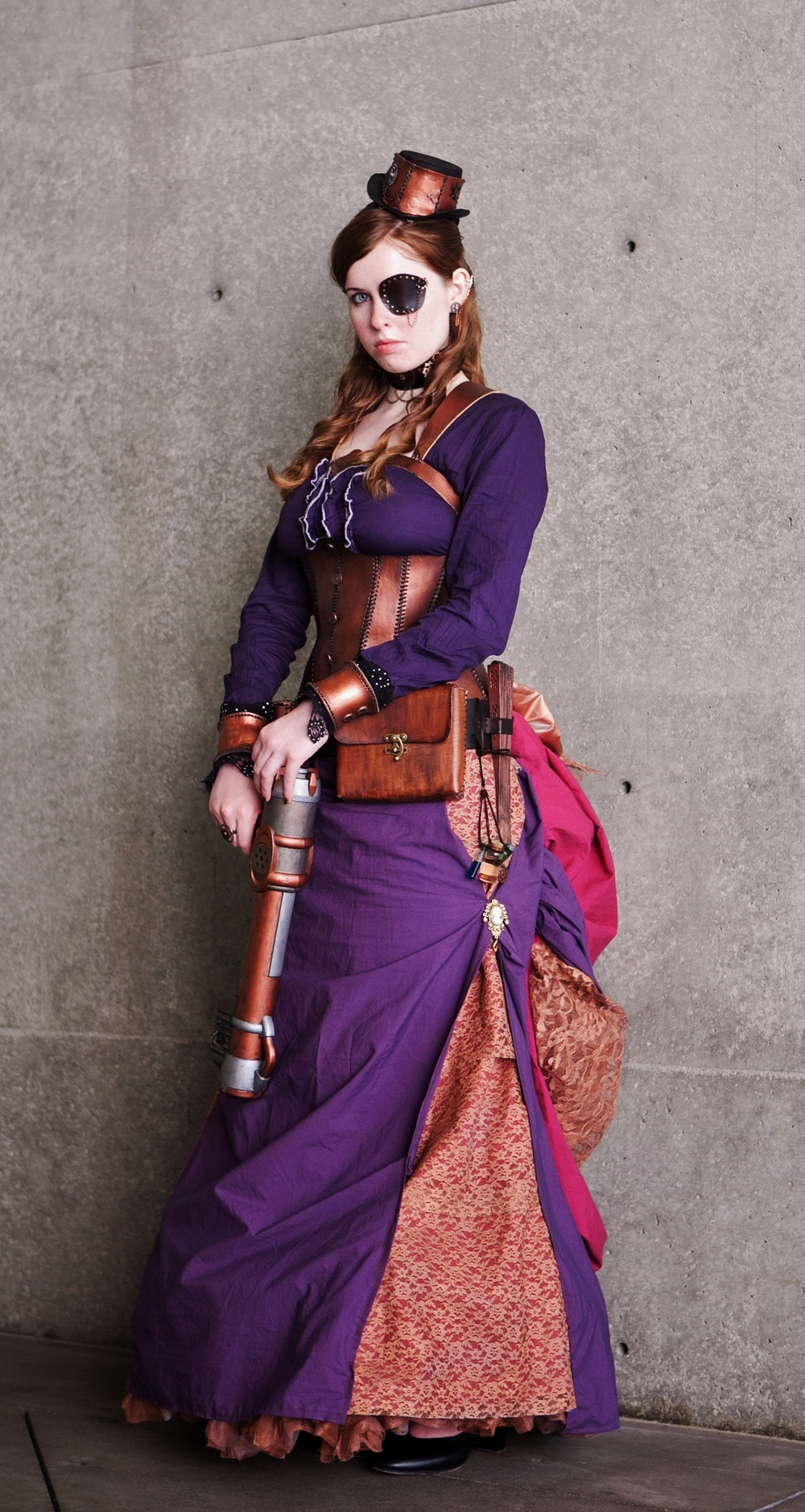 Tayliss Forge - Steampunk Assassin, Photo taken by Simply Colorful
