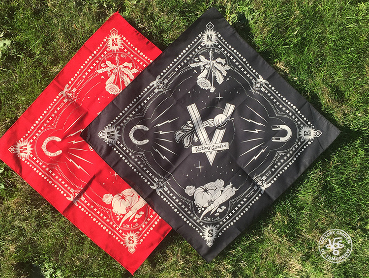 Lucky Bandanas, Red or Black