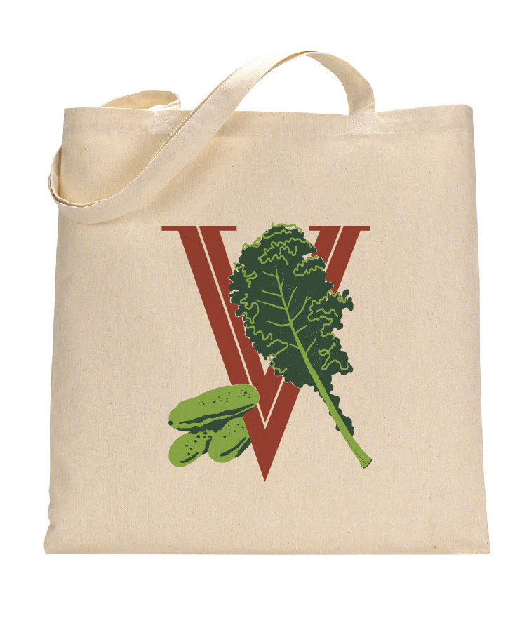"""Victory Veggies"" Tote Bag"