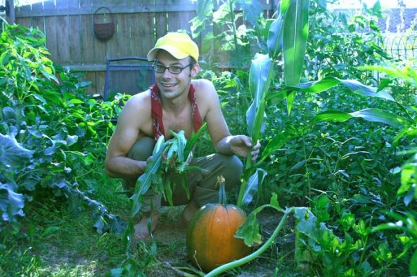 My big garden in Columbus, Ohio. A formative time for me.