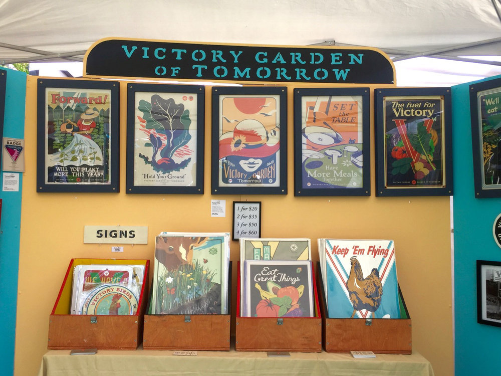 Posters are the VGoT's flagship item--neat and collectible, many of these are hand-pulled screen prints.