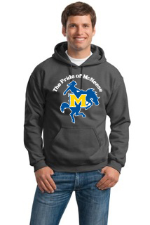 Dark Gray Hoodie with Pride Logo