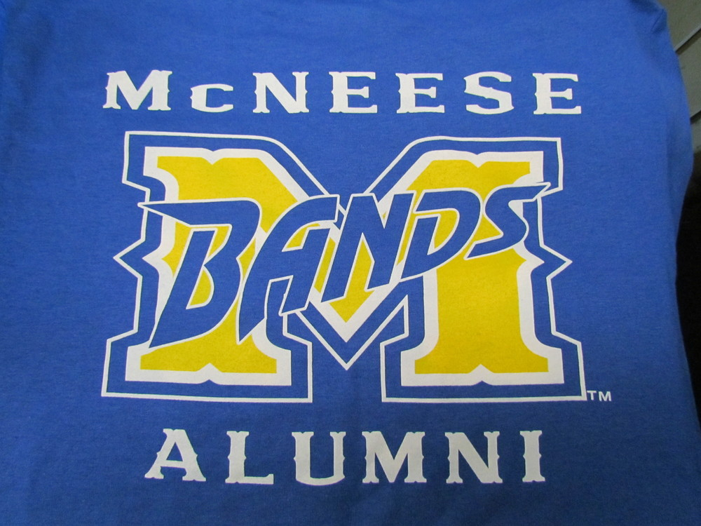 Short-sleeve, Band Alumni T-Shirt (back)