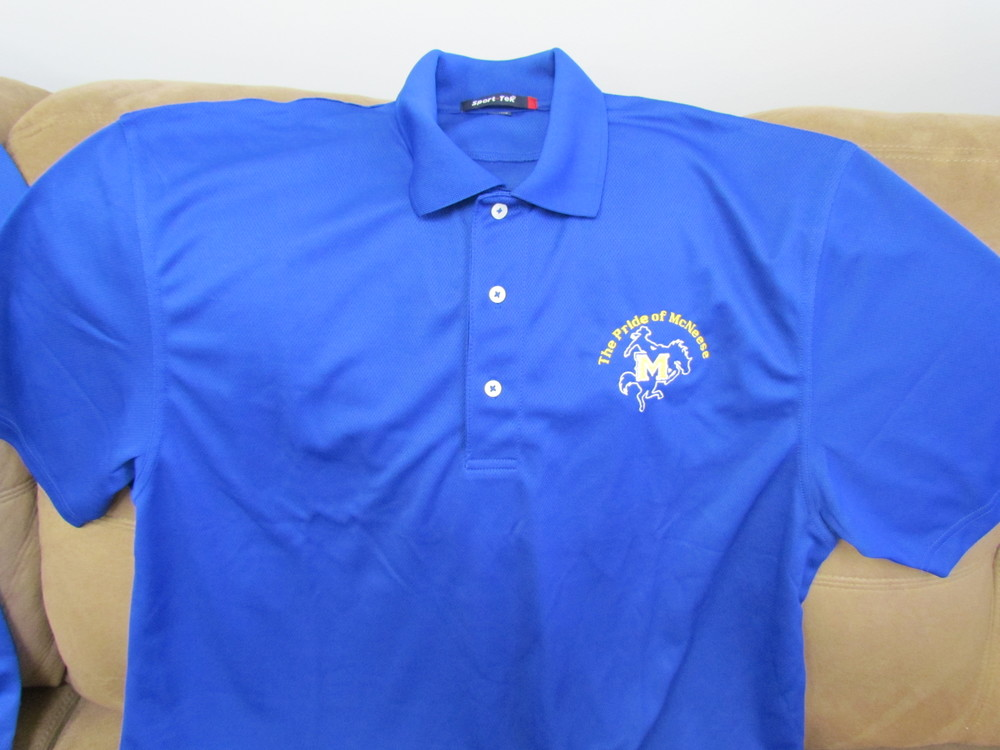 "Pride of McNeese ""wicking"" polo - Men's Style"