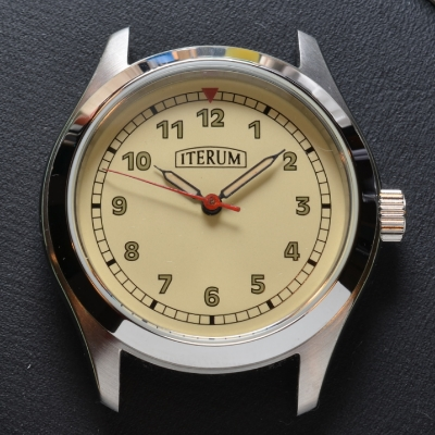 Seeland AS 1294 with Iterum dial and vintage hands.