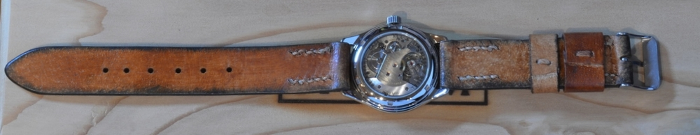 Iterum Seeland AS 1294 with brown leather strap.